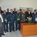 Υποδοχή αποστολής του Υπουργείου Εκτάκτων Αναγκών της Ρωσίας