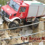 Πρωτόγνωρη κακοκαιρία στην Ικαρία κινδύνεψε Πυροσβεστικό όχημα