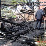 Πυρκαγιά σε παραθαλλάσιο κάμπινγκ με φιάλες υγραερίου