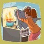 Ας δημιουργήσουμε ένα περιβάλλον πιο ασφαλές (φωτιά σε κατσαρόλα)