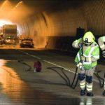 Ατυχήματα πυρκαγιών σε οδικές σήραγγες
