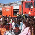Εκπαίδευση μαθητών δημοτικών σχολείων από το πυροσβεστικό κλιμάκιο Σκιάθου