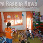 Ομιλία για τους σεισμούς και το δάσος σε παιδικό σταθμό