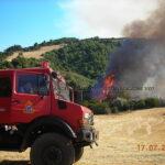 Οι μεγάλες πυρκαγιές στην Πάτρα