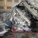 Θανατηφόρα σύγκρουση βυτιοφόρου με ΙΧ & επακόλουθη φωτιά