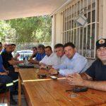 Αντιπροσωπεία των Οικολόγων Πρασίνων στο Πυροφυλάκειο Βύρωνα