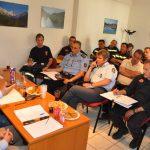 Κοινή συνεδρίαση με Πυροσβεστικό Σώμα-Εθελοντές–Δασαρχείο