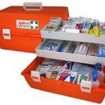 Ελάχιστα απαιτούμενα υλικά πρώτων βοηθειών στους χώρους εργασίας