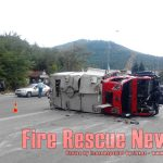 Ανατροπή Πυροσβεστικού Οχήματος στην Καβάλα