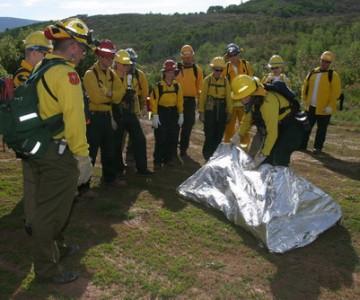 Μέσα ατομικής προστασίας Εποχικών Πυροσβεστών