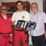 Με 2ο Αυτόματο Εξωτερικό Απινιδιστή εξοπλίστηκε το Σώμα Εθελοντών Σαμαρειτών