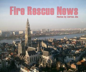 H Πυροσβεστική Υπηρεσία της Αμβέρσας