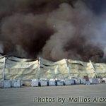Μεγάλη πυρκαγιά στην Πάτρα
