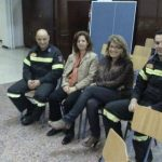 Oι Εθελοντές Πυροσβέστες στο Γενικό Λύκειο Καλλίπολης