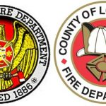 L. A. City Fire Department & L. A. County Fire Department