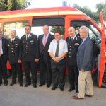Δωρεά οχήματος στην Πυροσβεστική Κέρκυρας