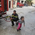 Oι λιλιπούτειοι μαθητές - πυροσβέστες της Ρόδου