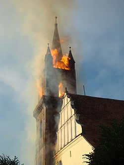 Μικρό χρονολόγιο πυρκαγιών του 21ου Αιώνα
