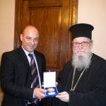 Συνάντηση  του  Προέδρου  της  Π.Ε.Ε.Π.Σ  με τον Αρχιεπίσκοπο της Αμερικής