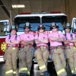 Πυροσβέστες στα Ροζ για την καταπολέμηση του καρκίνου του μαστού