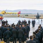 Τελετή λήξης της πυροσβεστικής περιόδου στη Διοίκηση Αεροπορικής Υποστήριξης