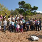 Εθελοντική δενδροφύτευση στα όρια Βύρωνα-Καισαριανής
