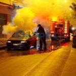 Φωτιά ξέσπασε σε αυτοκίνητο στην Καλαμάτα