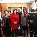 Επίσκεψη βουλευτών του ΣΥΡΙΖΑ στο Αρχηγείο ΠΣ και συνάντηση με Εθελοντές Πυροσβέστες
