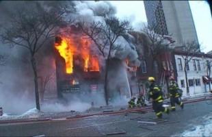 ΗΠΑ: Πυρκαγιά σε κτίριο - Δεκάδες τραυματίες