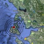 Strong quake damages roads, buildings in Cephalonia