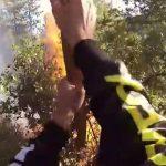 Ποδηλάτες σώνουν το δάσος του Χορτιάτη από επικείμενη πυρκαγιά!