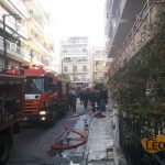 40-year-old woman dies in Athens apartment fire