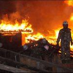 Mεγάλη καταστροφή από πυρκαγιά υπέστη βουδιστικό κέντρο