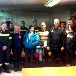Επίσκεψη της Χαράς Καφαντάρη στον 9ο Πυροσβεστικό Σταθμό Αθηνών