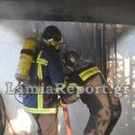 Φωτιά σε σπίτι στην Λαμία