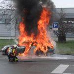Καινούργια Porsche 911 GT3 πήρε φωτιά μόνη της...