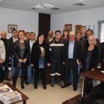 Επίσκεψη του Χρ.Σκουμπόπουλου στην Πυροσβεστική Υπηρεσία Βέροιας