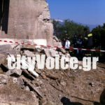 Two men killed by collapsed wall in Agrinio