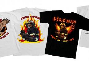 Ελληνική σειρά T-shirts για Πυροσβέστες - Δασοπυροσβέστες