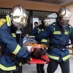 Άσκηση ετοιμότητας από το 1ο Πυροσβεστικό ΣταθμόΛάρισας