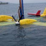 Ρυμουλκό ασφάλισε το Canadair για να μην παρασυρθεί μέσα στη νύχτα