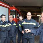 Στην Πυροσβεστική Υπηρεσία Ηρακλείου ο Βασίλης Λαμπρινός και η Δύναμη Πολιτών