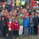 Εκπαιδευτική επίσκεψη των μαθητών του Δημοτικού Σχολείου Χρυσομηλιάς στην Πυροσβεστική