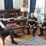 Στενή συνεργασία Δήμου και Πυροσβεστικής για πρόληψη και κατάσβεση πυρκαγιών