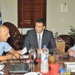 Σύσκεψη υπό την προεδρία του Υπουργού Δημόσιας Τάξης και Προστασίας του Πολίτη κ. Βασίλη Κικίλια