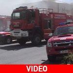 Ολική καταστροφή σε πολυκατάστημα από πυρκαγιά