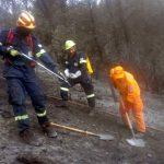 Παρών στην πρώτη μεγάλη πυρκαγιά για φέτος έδωσε ο ΟΦΚΑΘ