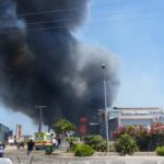 H φωτιά έσβησε αφού έκαψε ολοσχερώς το cosmos center
