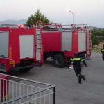 Nυχτερινή άσκηση του Πυροσβεστικού Εθελοντικού Σταθμού Ευρώτα