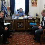 Συνάντηση του Συντονιστή Eπιχειρήσεων Θεσσαλονίκης Π.Σ. με τον αντιπρόεδρο της Γερμανικής Ομοσπονδίας Πυροσβεστικών Υπηρεσιών
